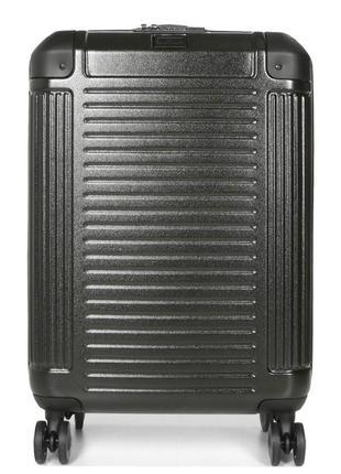 Качественный дорожный чемодан на колесах snowball 84903 чорний, валіза