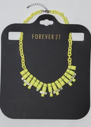 Ожерелье forever 21 колье, бижутерия