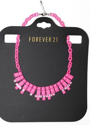 Бижутерия колье, ожерелье forever 21
