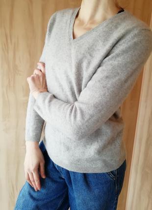Кашемировый свитер clarina