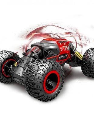 Не убиваемая машинка для трюков monster car red