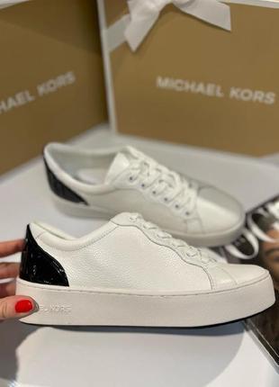 Кроссовки michael kors khloe two tone sneakers