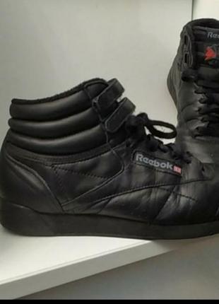 Утепленные кожаные демисезонные кроссовки