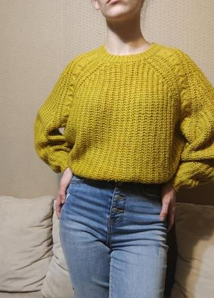 Финальная распродажа🔥шикарный обьемный свитер