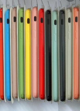 Чехлы silicon case на айфон