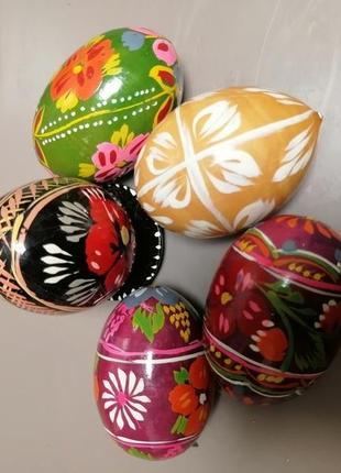 Яйца пасхальные декор дерево