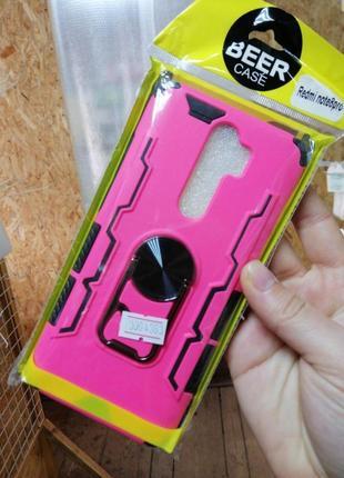 Противоударный чехол,открывашка на смартфон xiaomi redmi note 8 pro новый!