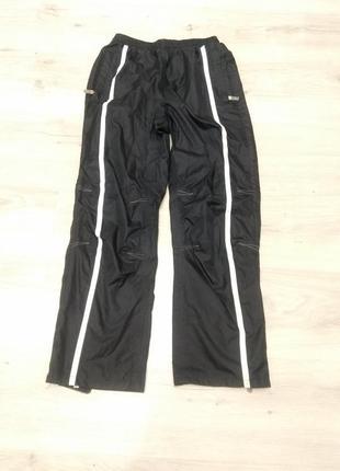 Спортивные штаны из плащевки. дождевики. штормовые штаны.