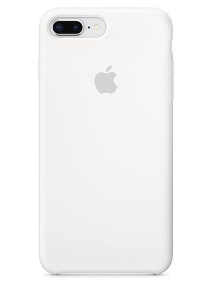 Чехол apple iphone 8plus/7plus silicone case white