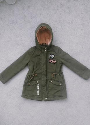 Дитяча куртка. парка