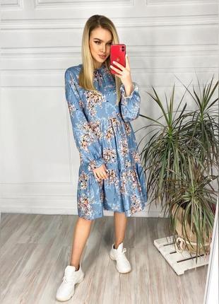 Очень стильное платье на весну