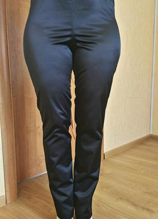 Сатиновый стильные брюки