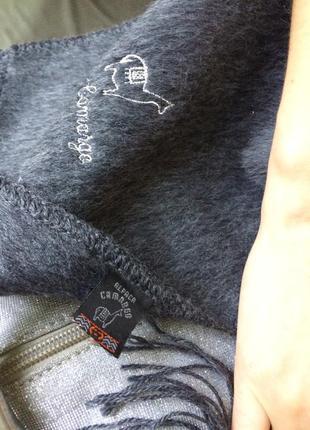 Новый шарф из альпаки