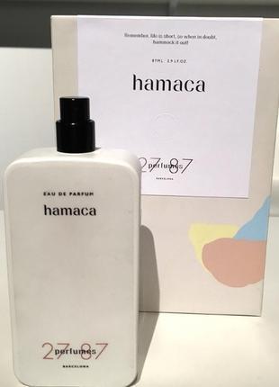 27 87 hamaca perfumes barcelona парфюмированная вода оригинал распив