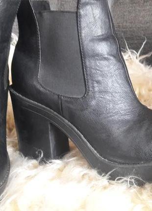 Ботинки h&m 38 розмір  черевики черевички