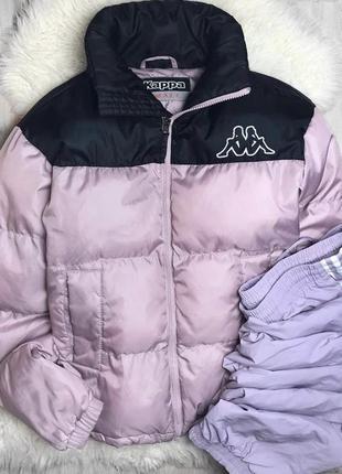 Конфетный пуховик куртка курточка каппа kappa