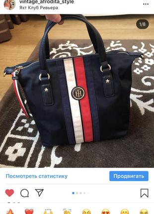 Tommy hilfiger сумка шопер оригинал
