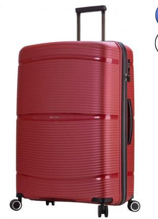 Snowball качественный дорожный чемодан для путишествий, валіза дорожня