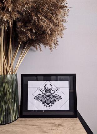 Картина жук
