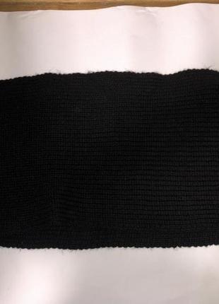 Черный шарф (баф) colin's