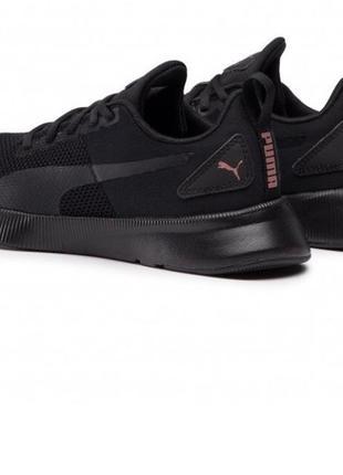 Чёрные легкие беговые кроссовки puma пума 39 размер flyer runner 192257