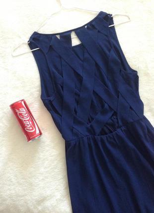 Платье шифоновое h m