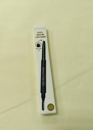Олівець для брів зі щіткою