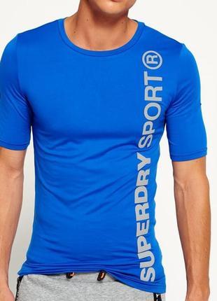 Мужская спортивная футболка superdry sport