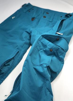Горнолыжные штаны бренда roxy silver, мембрана 5000мм