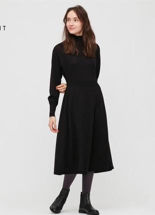 Шерстяное платье uniqlo