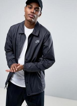 Куртка nike mens sb shld jacket coaches 829509-010