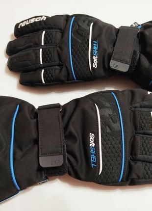 Мужские супертёплые термоперчатки, перчатки reusch, размер 7.5
