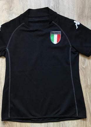 Подростковая футбольная джерси kappa italia