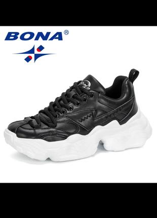 Новые кроссовки с объемной подошвой от bona