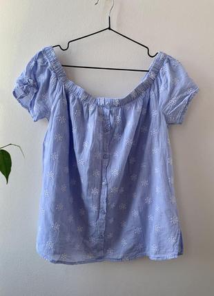 Блуза розмір 16 100% cotton