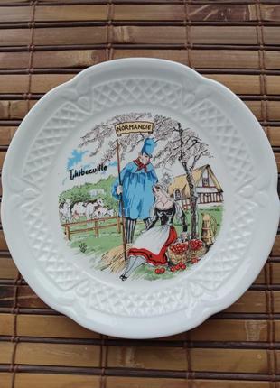 Тарелка из нормандии