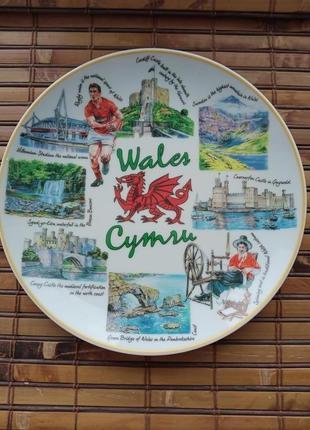 Тарелка из уэльса