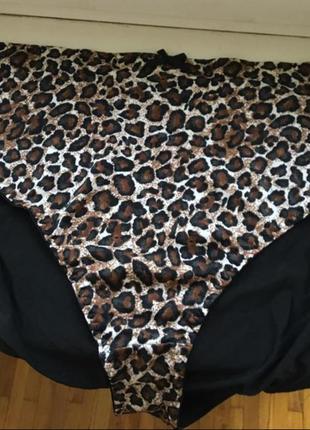 Сток брендовые плавки леопард принт