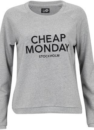 #свитшот cheap monday#свитшот#свитер#джемпер#пуловер#толстовка#