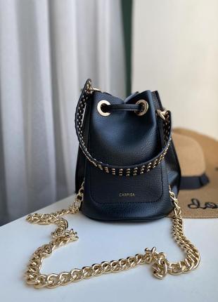 Стильна сумка бочонок , італійської фірми carpisa