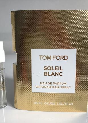 Tom ford soleil blanc 2ml пробник
