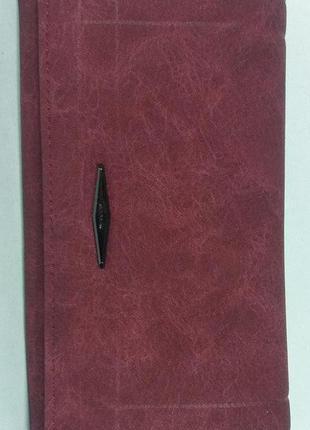 Женский кошелек modern цвета бордо, марсала