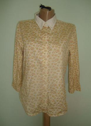 Красивая женская рубашка polo jeans company размер l (наш 48-50)