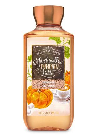 Гель для душа bath and body works marshmallow pumpkin latte