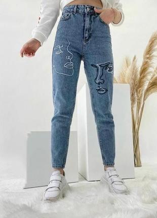 Новинка 2021! джинсы мом