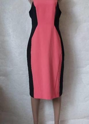 Фирменное next силуэтное платье миди в составе хлопок со спинкой с прошвы, размер л-ка