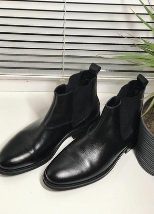 Туфли челси натуральная кожа