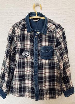 Рубашка chicco 128см