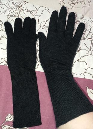Кашемировые перчатки globus1 фото