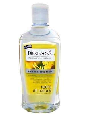 Dickinson brands оригинальный тоник witch hazel для очищения пор, 473 мл